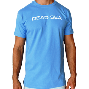 Dead Sea - Lowest Place On Earth - Front & Back T-Shirt
