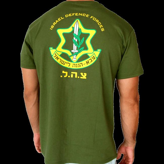 100 Cotton T Shirt Army Green Unisex Sizes