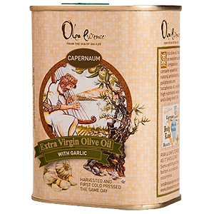 Olea Essence Flavored Extra Virgin Olive Oil. Lemon, Garlic or Basil.