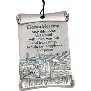Blessing for the Home Pewter Plaque