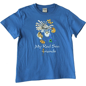 My Red Sea Friends Kids T-Shirt