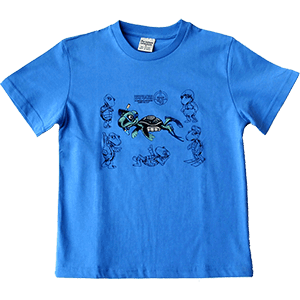 Snorkeling Turtle Toddler and Kids T-Shirt