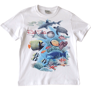 Red Sea Life Kids T-Shirt
