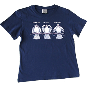 Three Doves of Peace Kids T-Shirt