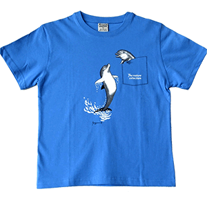 Pocket Dolphin Toddler and Kids T-Shirt