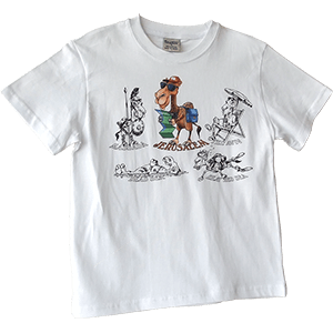Tourist Camel Toddler and Kids T-Shirt