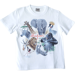 Camiseta para niños Safari Animals