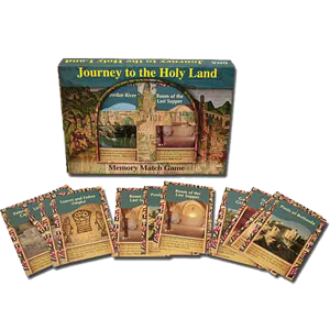 """Journey to the Holy Land"" Memory Match Game"