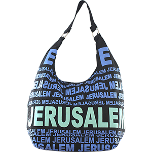 City Hobo Bag with Jerusalem Blue/Green Matte