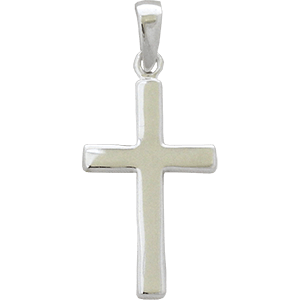 Sterling Silver Cross Pendant.