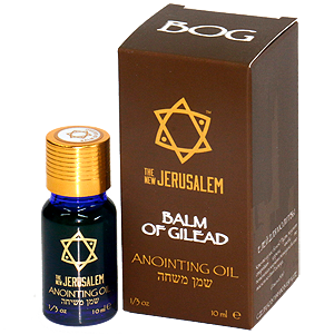 The New Jerusalem Anointing Oil Balm of Gilead Essential Oil
