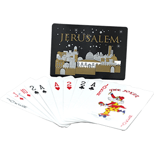 Holy Land Playing Cards, Single Deck.