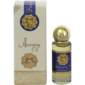 Bible Treasures Frankincense and Myrrh Anointing Oil