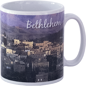 Ceramic Bethlehem Coffee Mug.