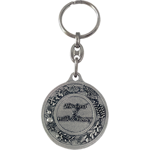 The Land of Milk & Honey keychain