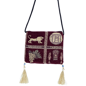 Embroidered Money Bag.