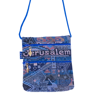 Jerusalem Passport Bag.