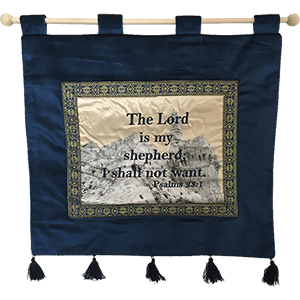 The Lord is My Shepherd Banner