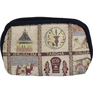 Embroidered Travel Bag.