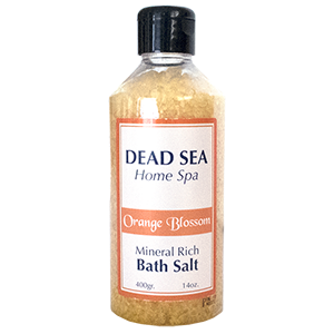 Ein Gedi Dead Sea Bath Salt . Orange Blossom.