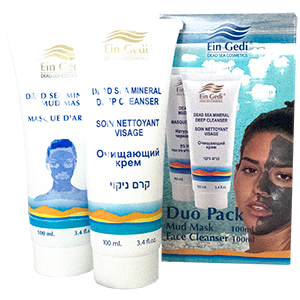 Duo Pack Mud Mask & Face Cleanser. Save 10%!