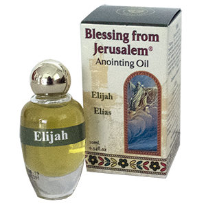 Blessing from Jerusalem Elijah Anointing Oil .