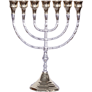 Large Knops Ornamental Menorah