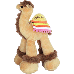 Jerusalem Colorful Plush Toy Camel