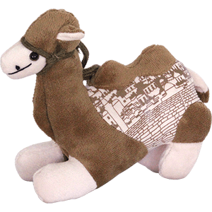 Jerusalem Sitting Camel Plush Toy