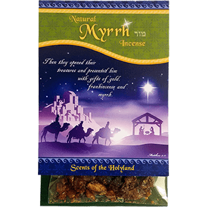 Natural Myrrh Biblical Incense