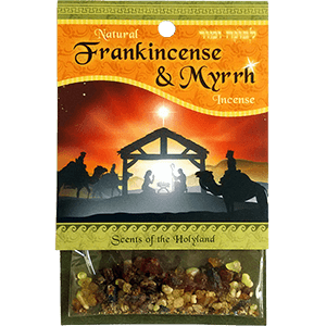 Natural Frankincense and Myrrh Biblical Incense