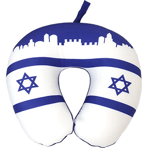 Israel Travel Neck Pillow