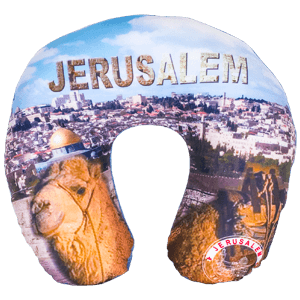 Jeursalem Camel Travel Neck Pillow