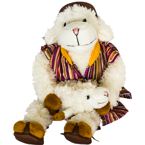 Sweet Lamb and Sheep Plush Toy