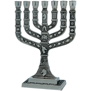 Pewter Plated 12 Tribes of Israel