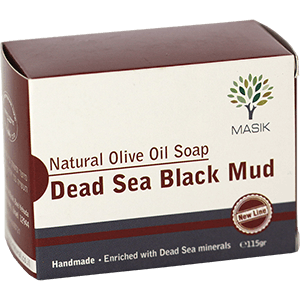 Masik Olive Oil & Dead Sea Black Mud Soap
