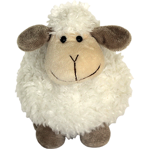 Jerusalem Fuzzy Sheep Plush Toy