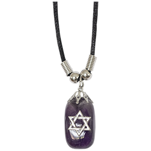 Amethyst Star of David Necklace