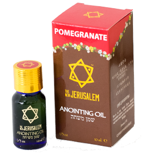The New Jerusalem Anointing Oil Pomegranate Essential Oil
