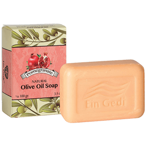 Ein Gedi Pomegranate Olive Oil Soap
