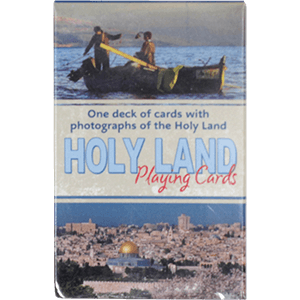 Holy Land Playing Cards, Single Deck