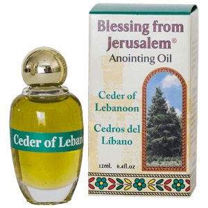 Blessing from Jerusalem Anointing Oil Cedar of Lebanon