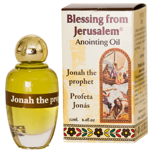 Blessing from Jerusalem Anointing Oil Jonah the Prophet
