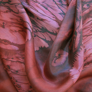 Rose Petals Galilee Silk Scarf
