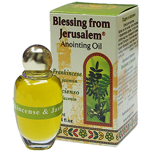 Blessing from Jerusalem Anointing Oil Frankincense & Jasmine