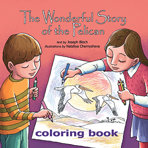 The Wonderful Story of the Pelican Coloring Book