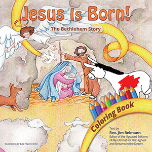 Jesus is Born Coloring Book