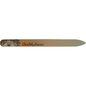 Bethlehem Crystal Glass Nail File