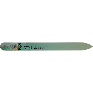Tel Aviv Crystal Glass Nail File