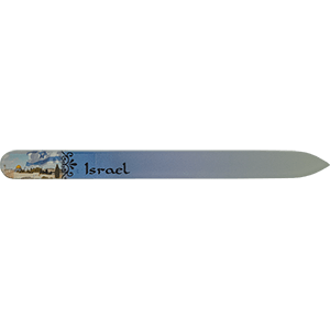 Israel Crystal Glass Nail File